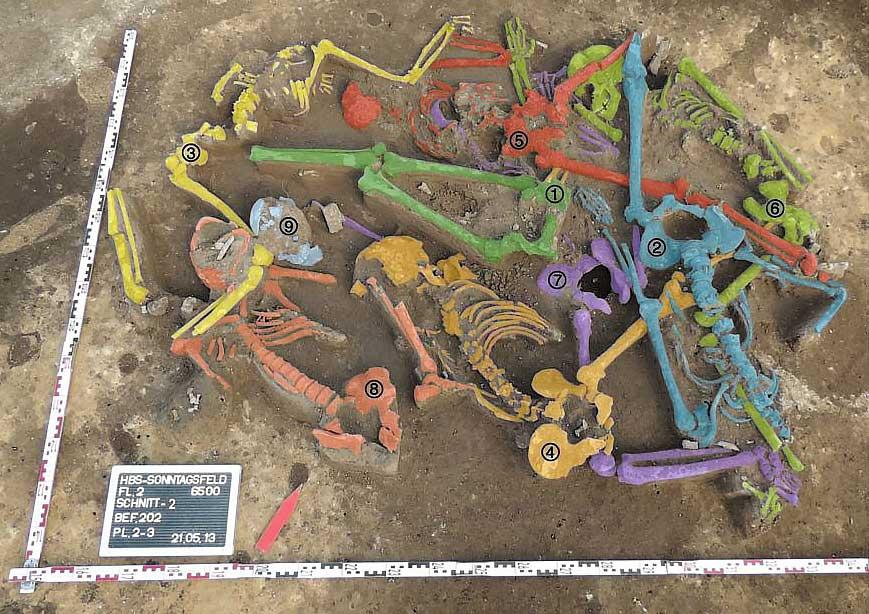 Neolithisches Massengrab von Halberstadt