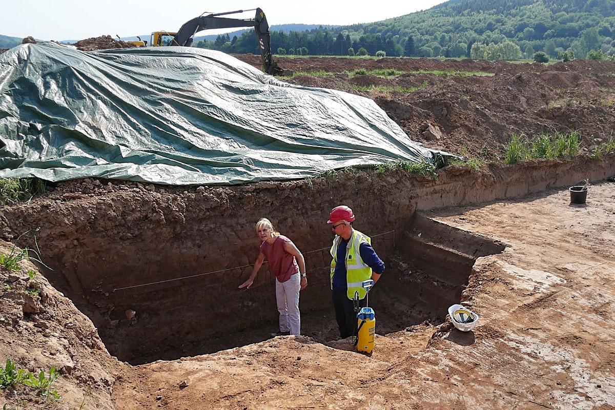 Ausgrabung Marsberg 2018
