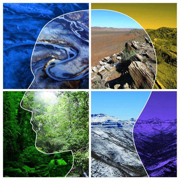 Grafik Lebensräume, die der Homo sapiens besiedelte