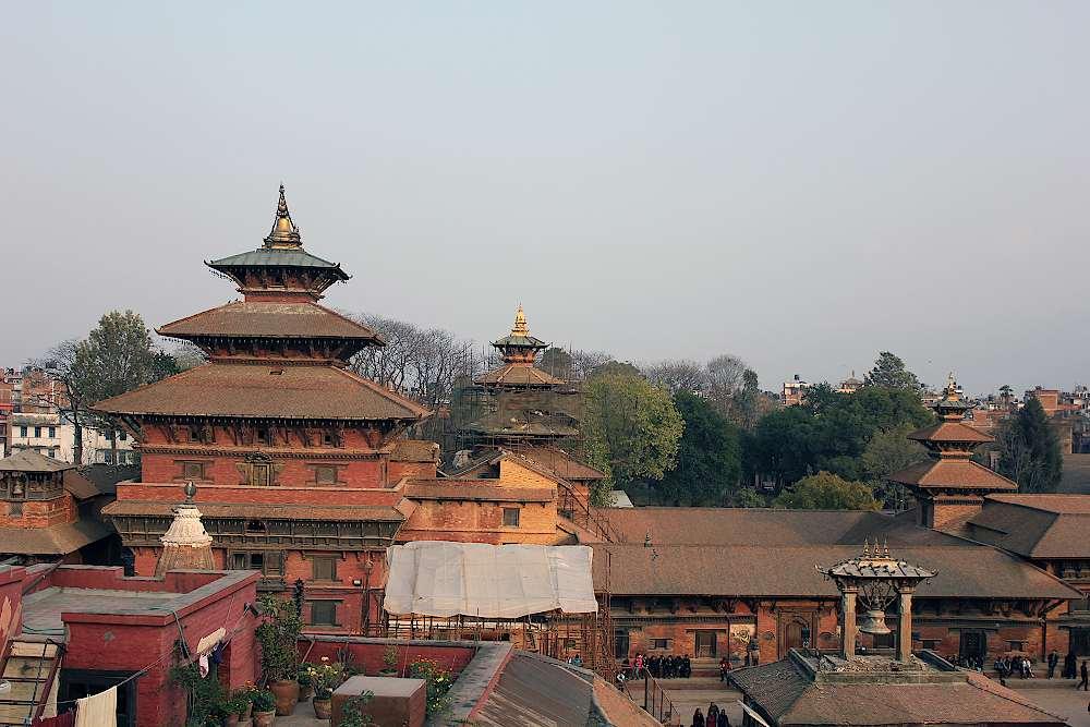 Der Königsplatz von Patan, Nepal