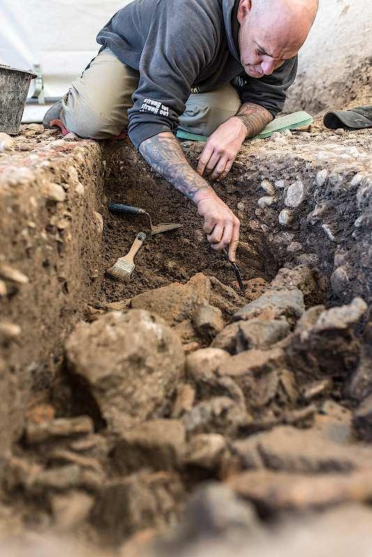 Am Haselrain in Riehen wurde eine bisher unbekannte Siedlung aus der Bronzezeit entdeckt