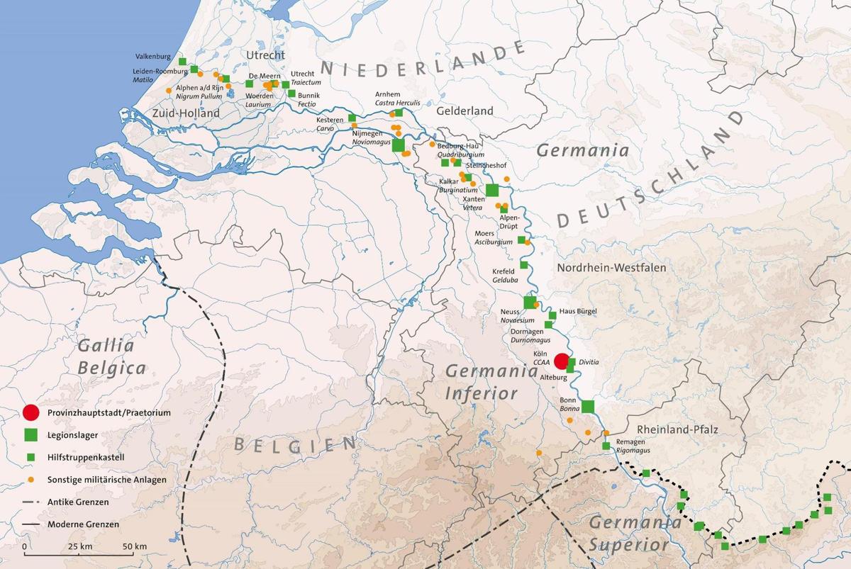Niedergermanischer Limes Antrag Zur Aufnahme In Das Unesco