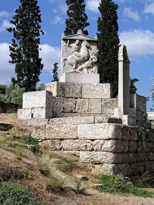 Relief des Ritters Dexileos