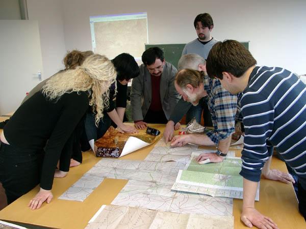 Diskussion historischer Karten
