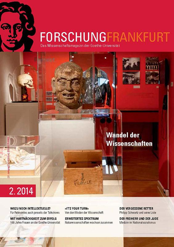 Forschung Frankfurt 2.2014 (Cover)