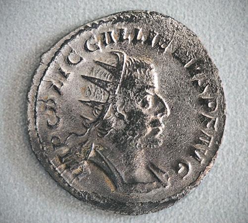 Gallienus-Münze
