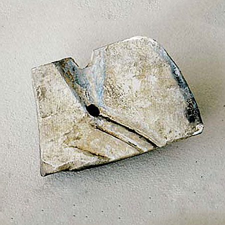 Bronzezeitliche Gussform