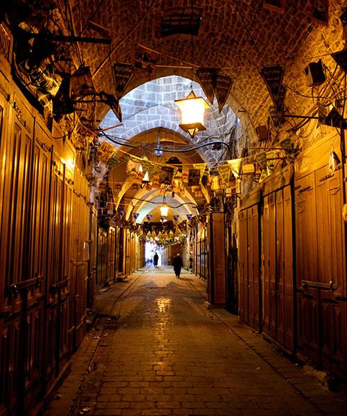 Old suq in Aleppo