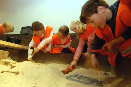 Einmal selbst Archäologe sein! Foto: LVR/Ströter, Gerhards