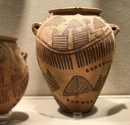 Gefäße der Naqada-II-Zeit