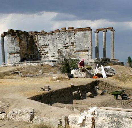 Ausgrabungen in Aizanoi/Türkei