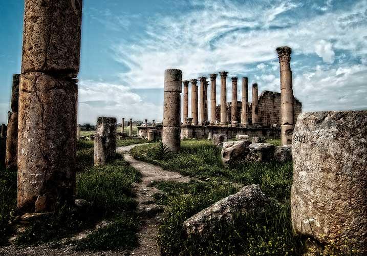 Antikes Heiligtum