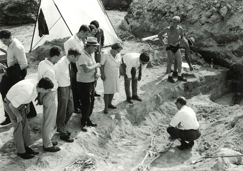 Ausgrabung Friedhof Altenerding-Klettham