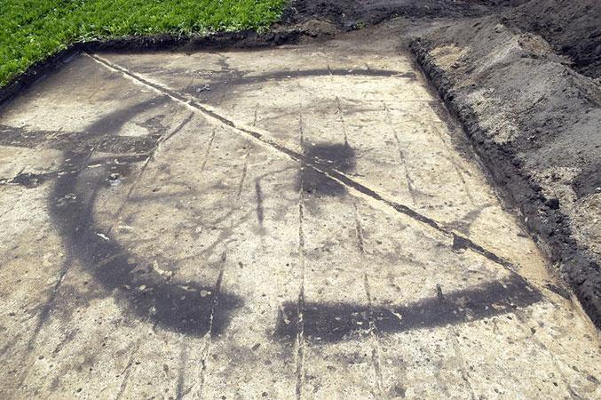 Jungbronzezeitlicher Kreisgraben