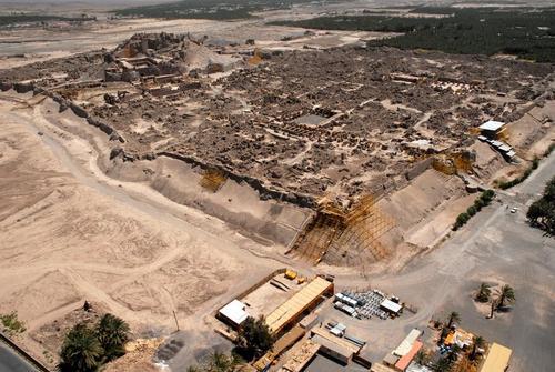 Die zerstörte Zitadelle von Bam