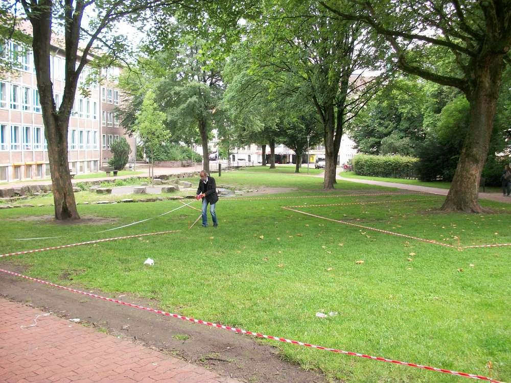 Am Montag beginnen die Arbeiten im Park der Menschenrechte in Bielefeld