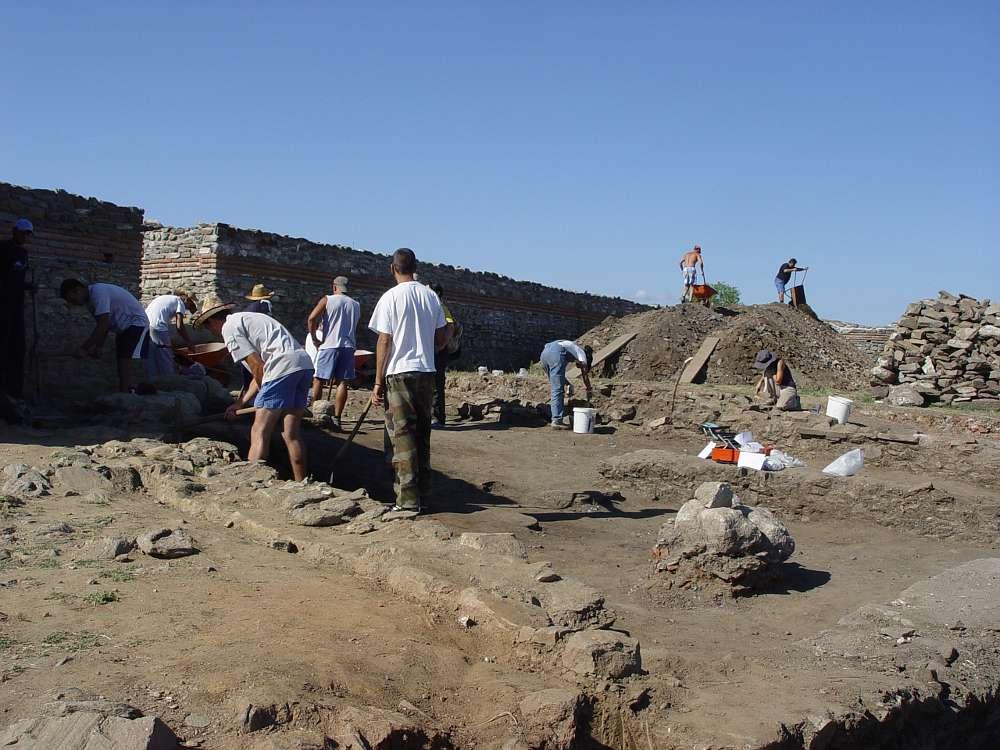 Grabungskampagne des Instituts für Archäologie Belgrad