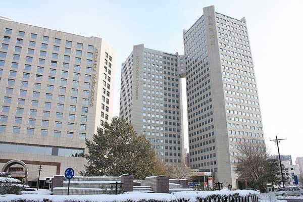 Sitz der Büroräumlichkeiten der Außenstelle Peking im German Centre Beijing, Landmark Complex im Nordosten der Stad (Foto: DAI, D. Hosner)