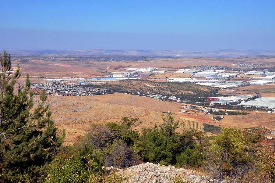 Stadtgebiet Doliche