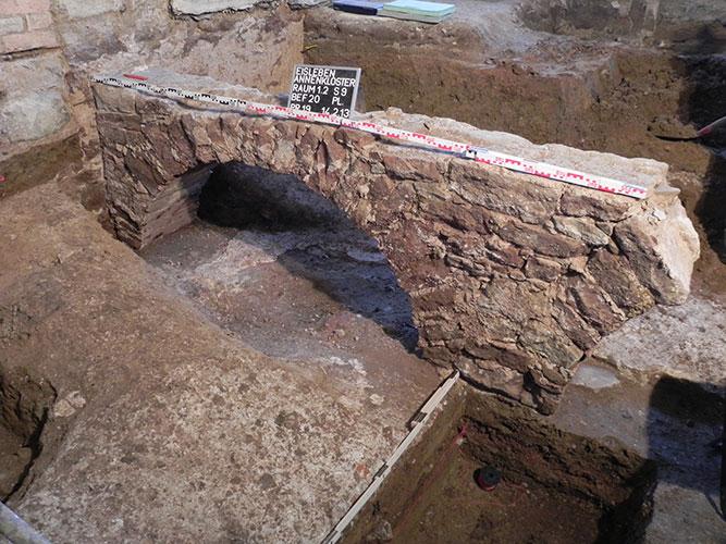 Kreuzgangmauer