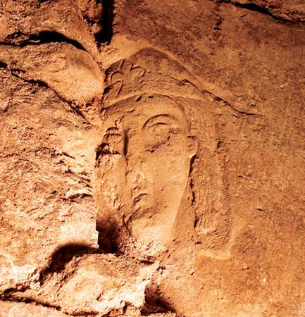Figürliche Darstellung von König David