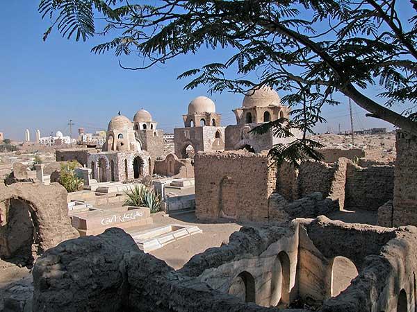 Blick in den islamischen Friedhof von Assuan (Foto: DAI)