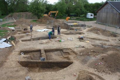 Ausgrabung in Freienbessingen