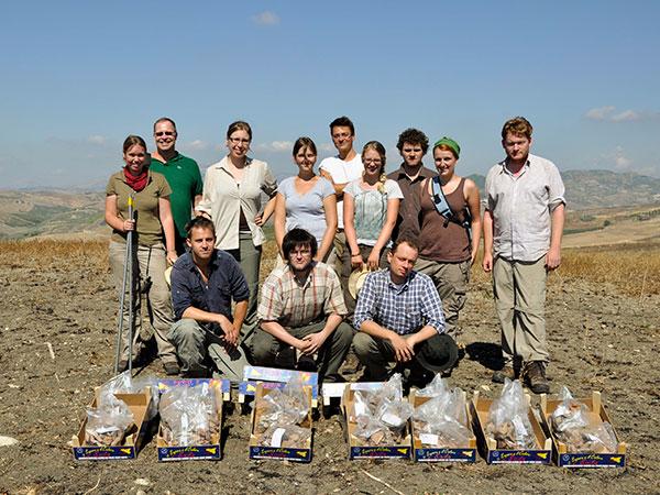 Das Göttinger Team des Agrigent-Surveys