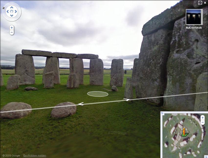 "Stonehenge ""Street""-View"