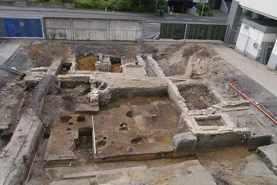 Ausgrabung in Hamm