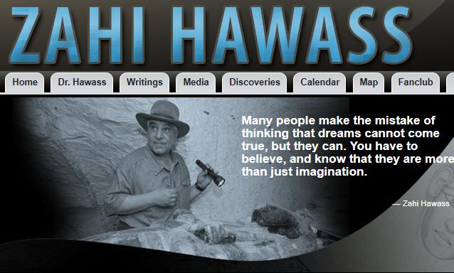 Zahi Hawass Website