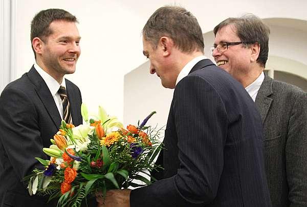 Marco Tullner, Dr. Hauke Horn, Prof. Dr. Wolfgang Schenkluhn