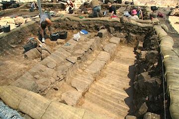 Ausgrabung Synagoge