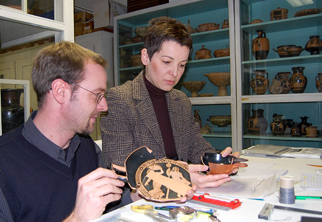 Keramik-Untersuchung