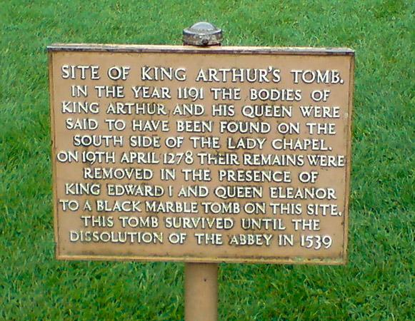 Grab von König Artus