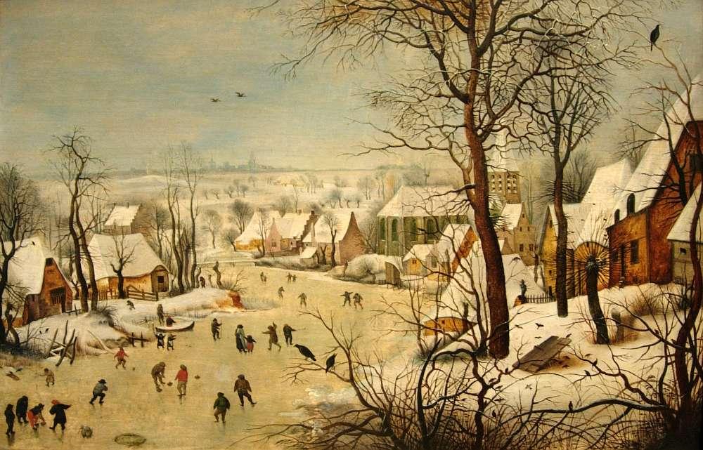 Winterlandschaft von Pieter Brueghel dem Jüngeren aus dem Jahre 1601 (Foto: S.U. Nussbaumer)