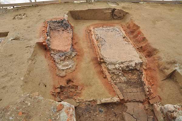 Reste der beiden Töpferöfen (zvg ADB)