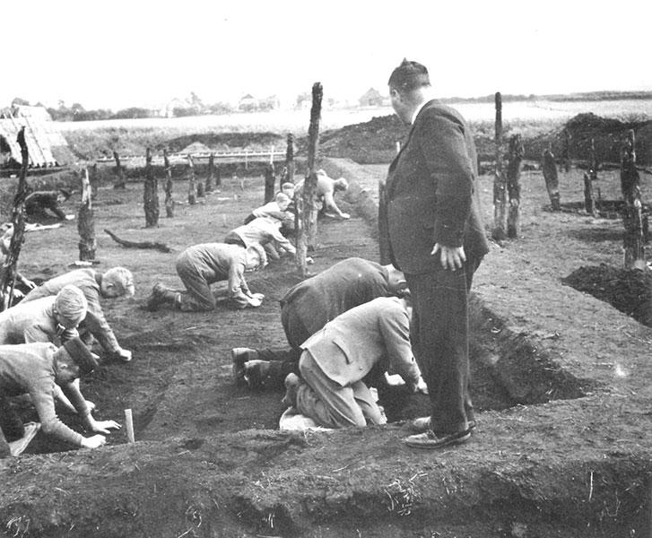 Ausgrabung 1939