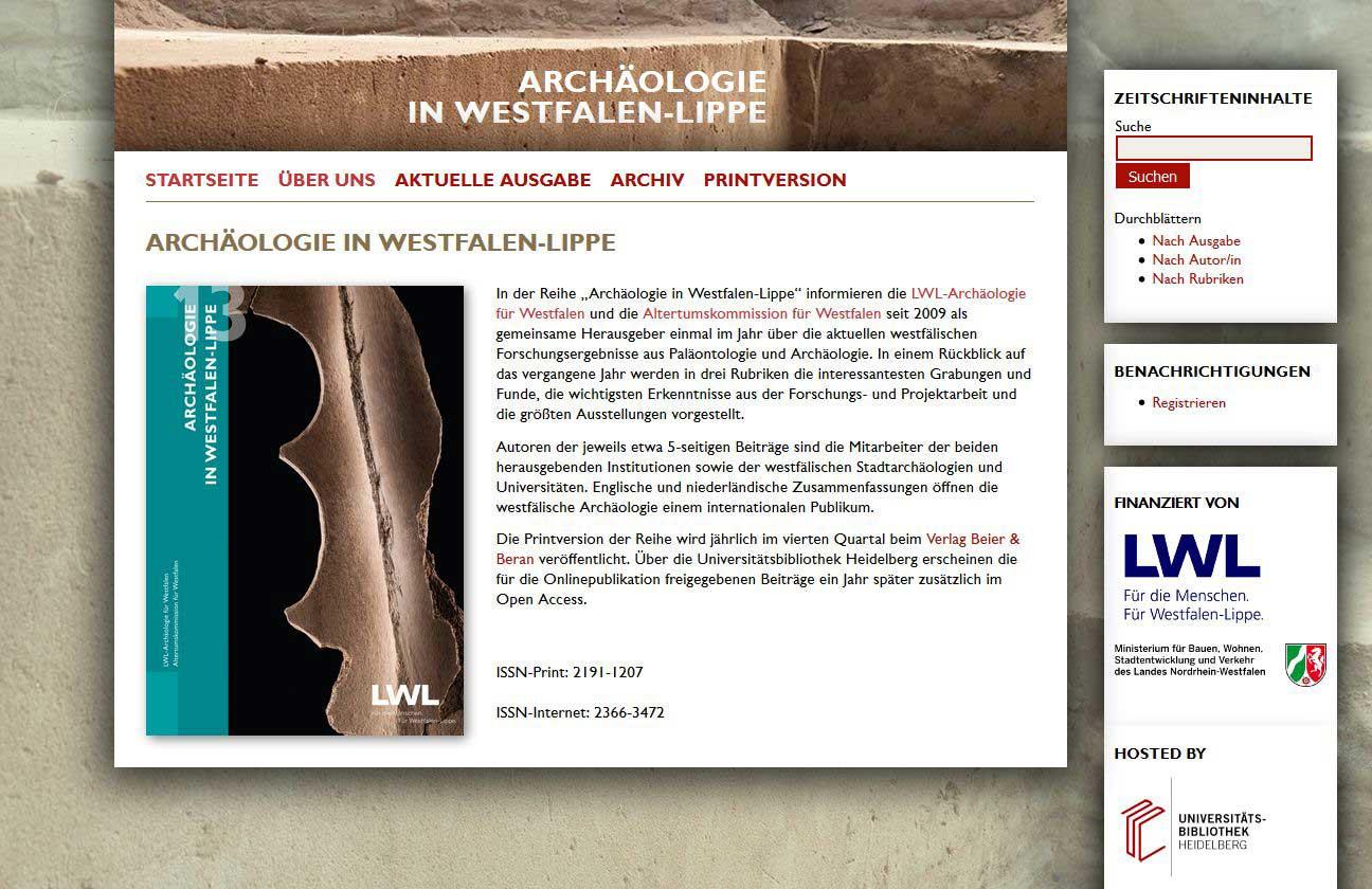 Archäologie Publikation Download