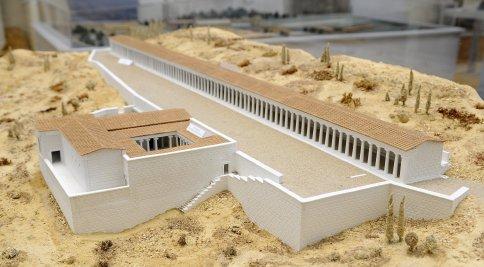 Modell der Trainingsstätten von Delphi