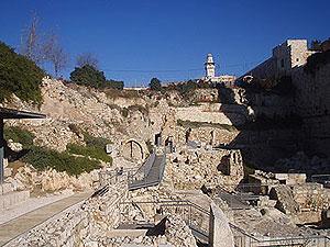 Archäologischer Park Jerusalem