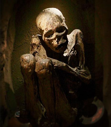 Mumie in Bogota