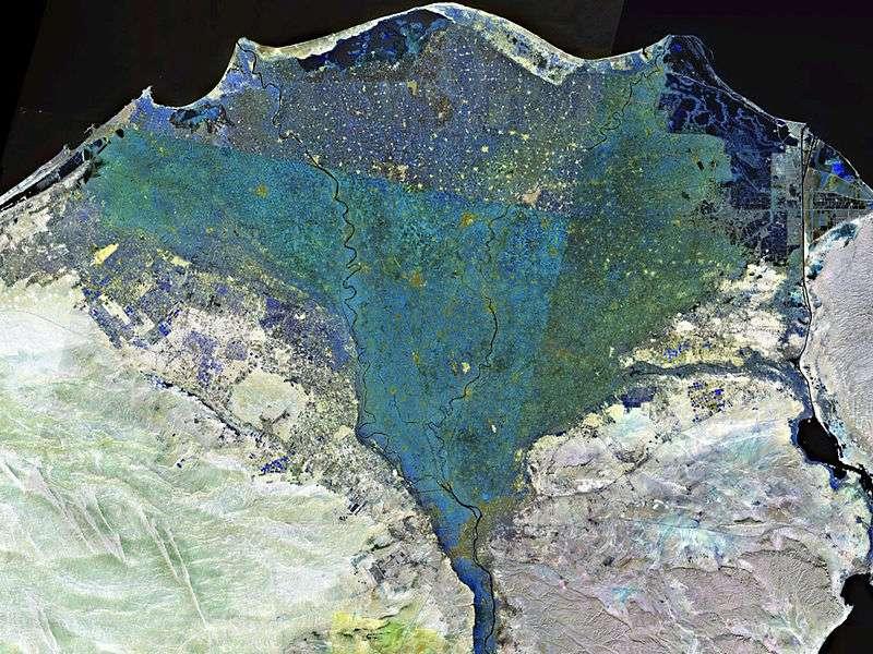 Die neolithische Siedlung Merimde Beni Salama liegt im Nildelta