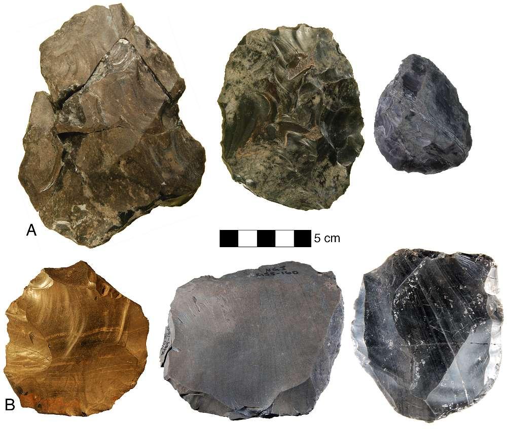 Steingeräte von Nor Geghi 1