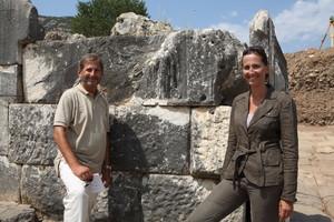 Johannes Hahn und Sabine Ladstätter