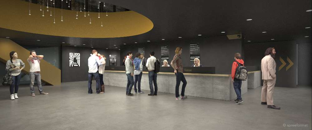 Das geplante Foyer