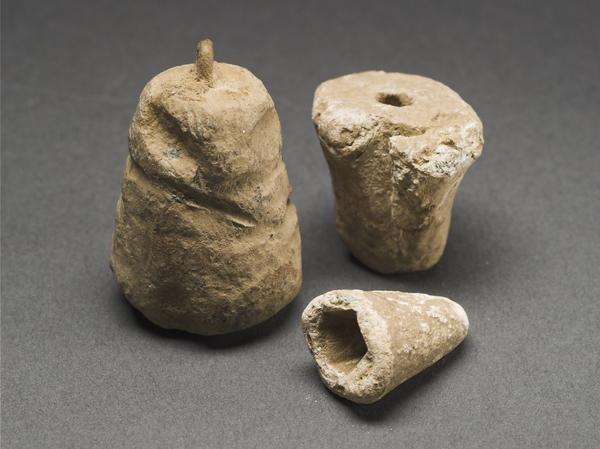 Bleilote, wie sie die Römer zur Planung eines Lagers benutzten (Foto: LWL/Brentführer)