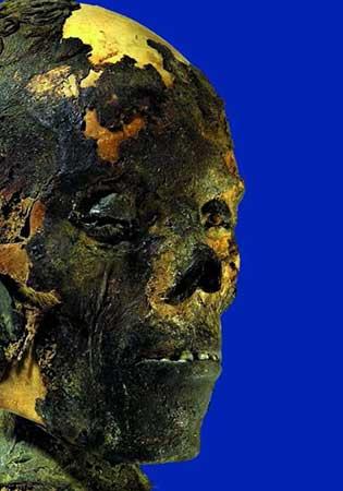 Ägyptischer Mumienkopf