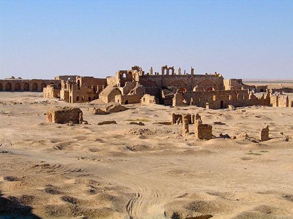 Ruinenstadt Resafa in Syrien