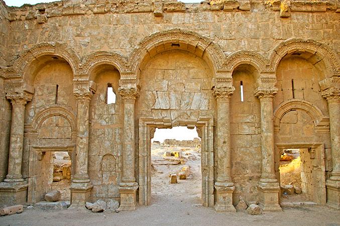 Ruinen in Resafa (Syrien)